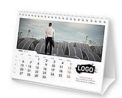 Calendário de mesa personalizado para imprimir