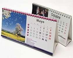 Calendário de mesa com foto personalizado