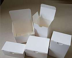 Embalagens de papel cartão para brownie