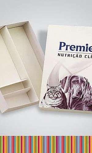 Caixa de papelão personalizada com fotos