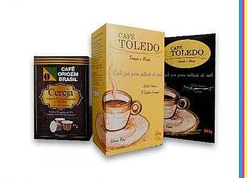 Embalagem em papel cartão para café