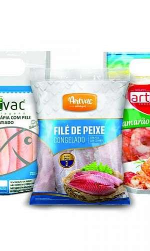 Embalagem para peixe