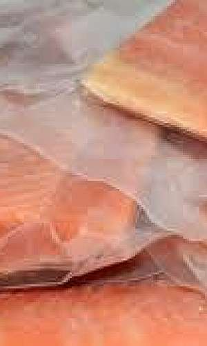embalagem para peixes congelados