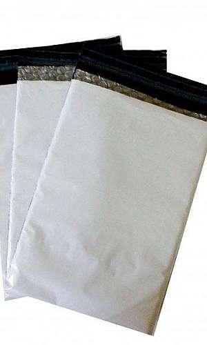 Embalagem plástica tipo envelope