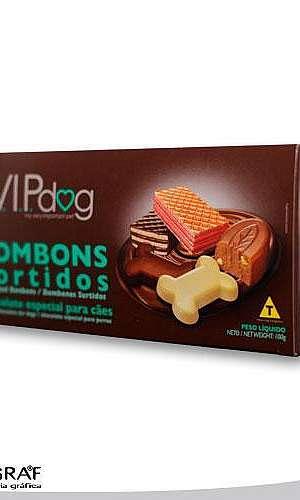 Embalagens de papel cartão para biscoitos