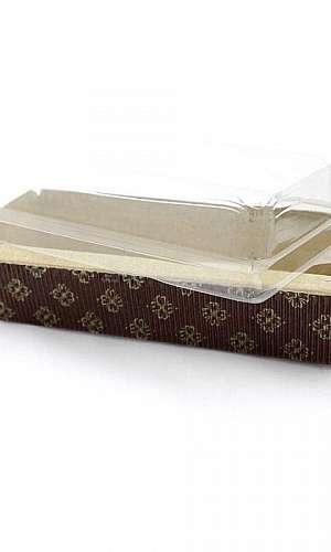 Embalagens de papel cartão para bolo inglês