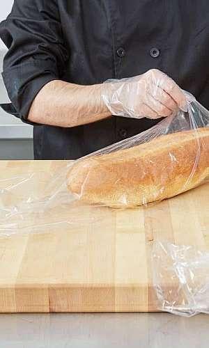 Embalagens de plástico para alimentos