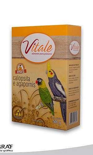 Embalagens em papel cartão para alimentos de pássaros