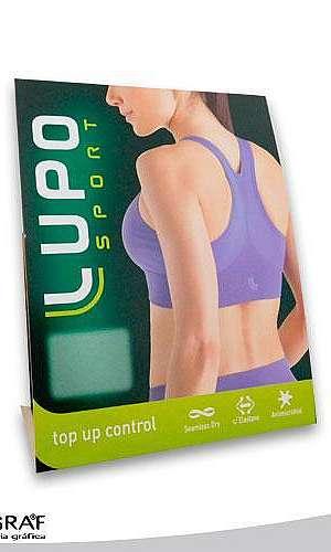 Embalagens em papel cartão para roupas íntimas