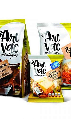 Embalagens laminadas para alimentos