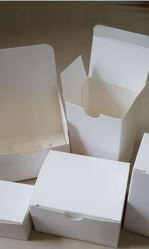 Fábrica de embalagens de papel cartão
