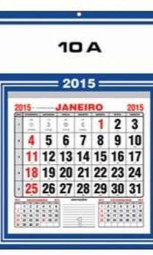 Impressão de calendário
