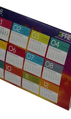 Impressão de calendários personalizados