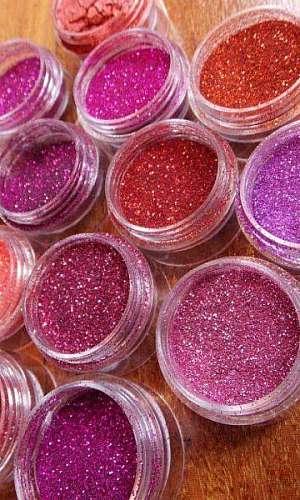 Onde encontrar glitter