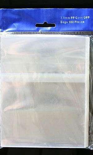 Saco de plástico de solapa